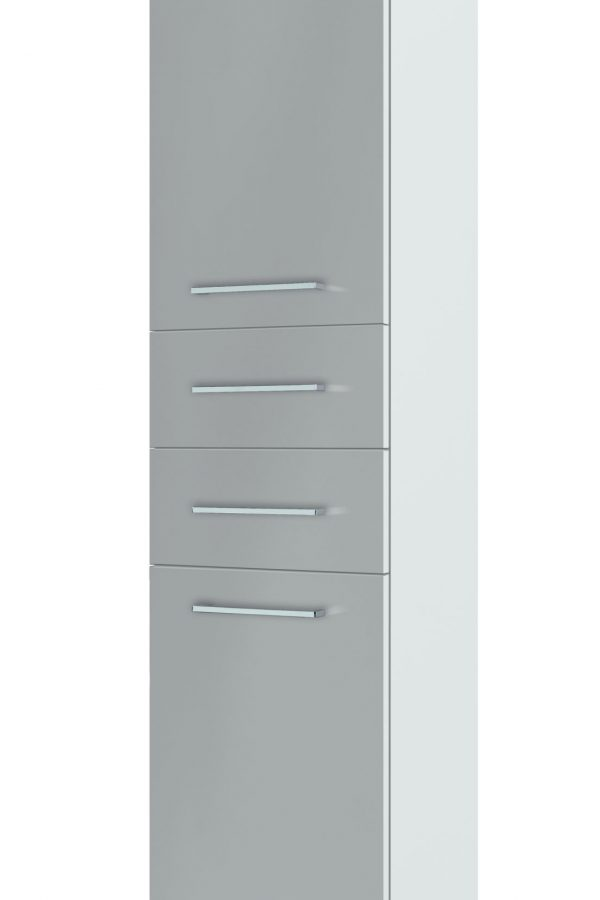 1600mm Tall Boy – Gloss White (Unit Only)
