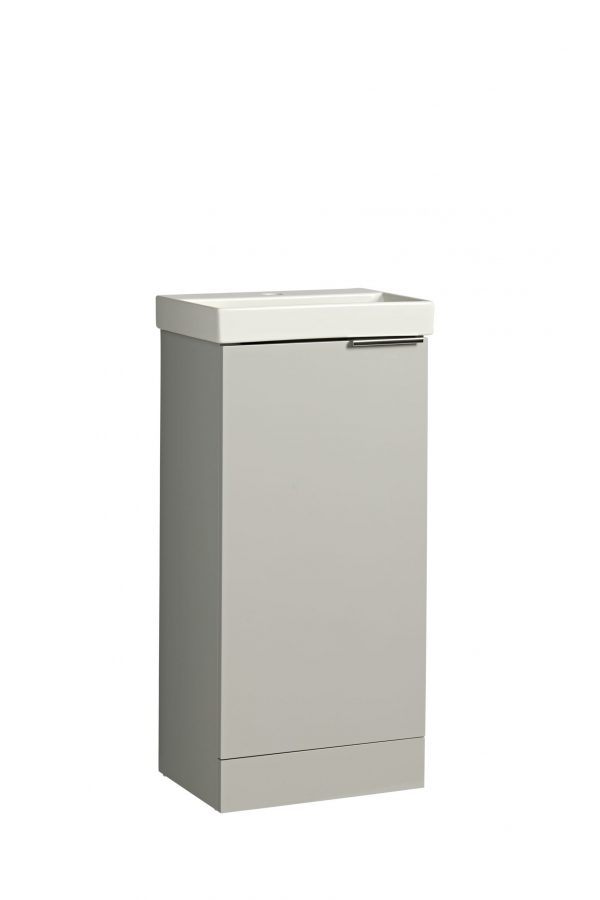 Cadence Cloakroom Unit Gloss Light Grey