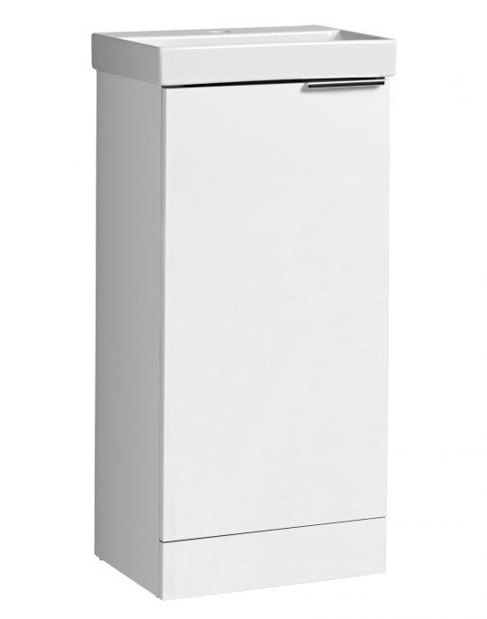 Cadence Cloakroom Unit Gloss White