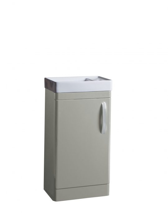 Compass 450mm Cloakroom Unit Light Grey