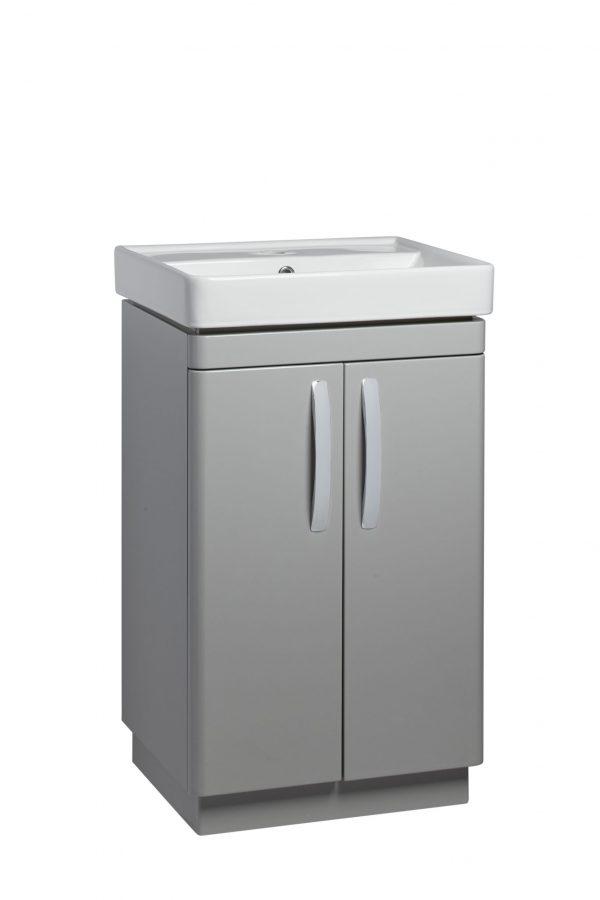 500mm Floor Unit – Grey (Unit Only)