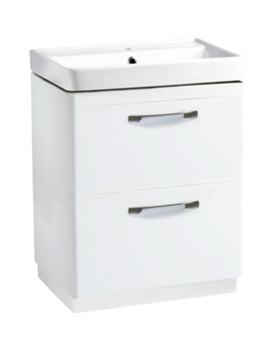 600mm Freestanding – White (Unit Only)