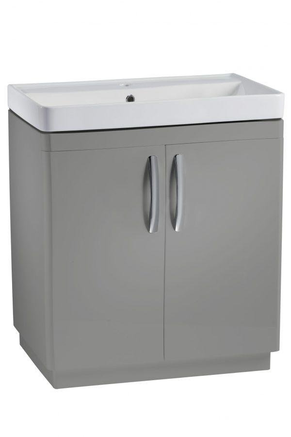 800mm Floor Unit – Grey (Unit Only)