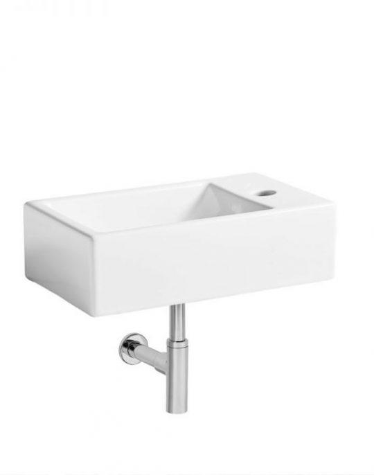 Cloakroom Basins Matrix RH Wal hung basin