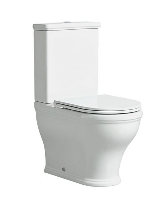 Lansdown Short Projection Fully Enclosed Close Coupled WC – 6/4L