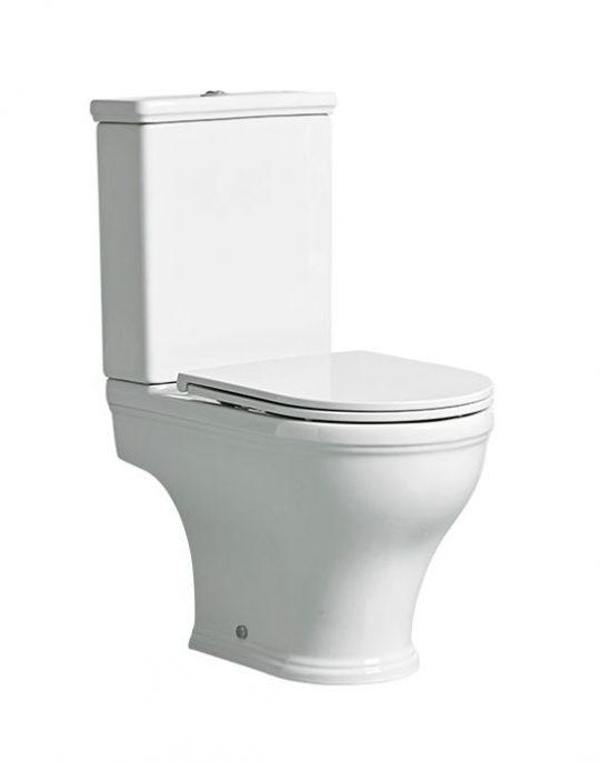Lansdown Short Projection Open Back Close Coupled WC – 6/4L