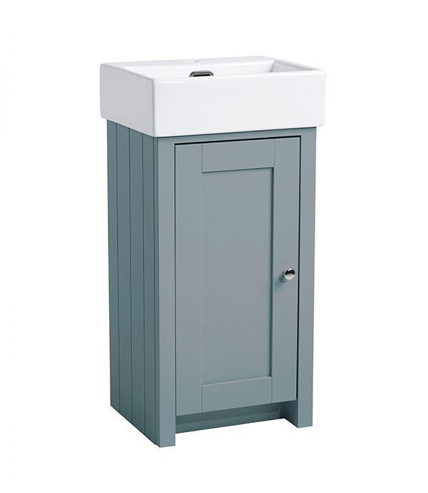 Lansdown – 450mm Cloakroom Mineral Blue