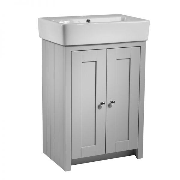 550mm Vanity Unit Only – Pebble Grey