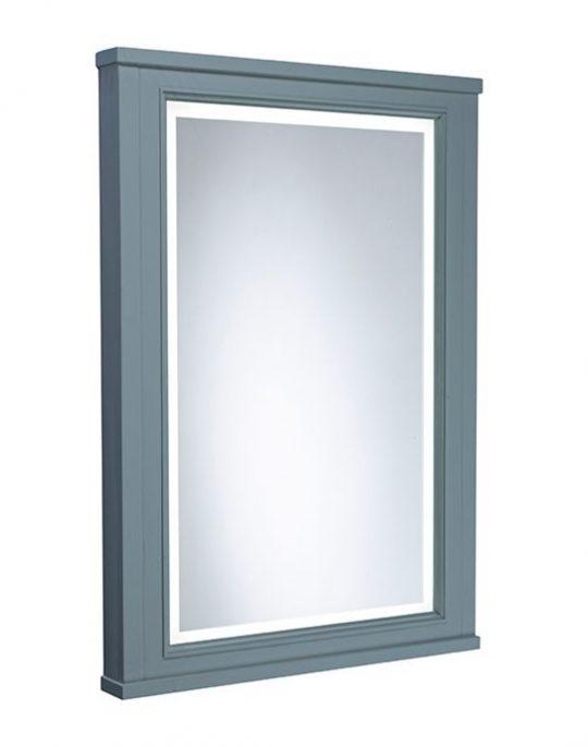 Lansdown – Framed Illuminated Mirror Mineral Blue