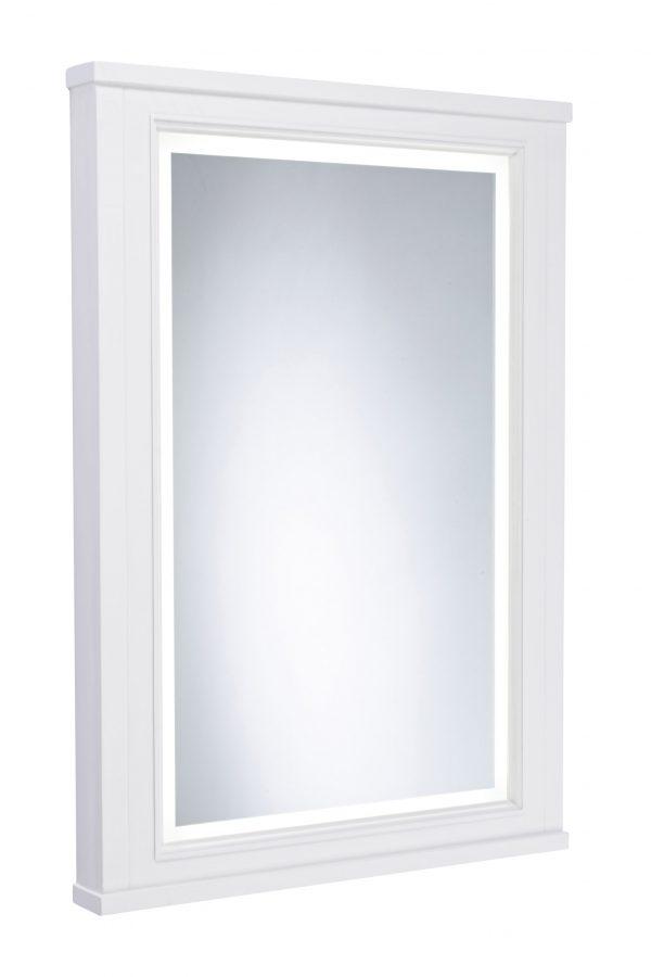 550mm Illuminated Mirror Frame – Pebble Grey