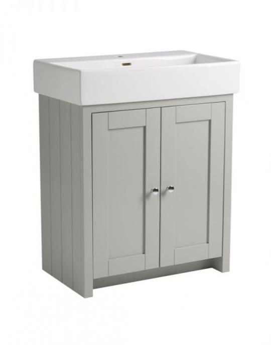 700mm Vanity Unit Only – Pebble Grey