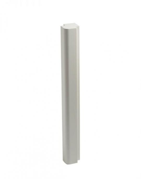 Lansdown – Bath Corner Post Linen White