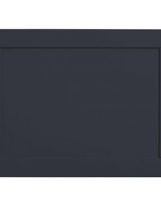 Lansdown – 1700mm Bath Panel Dark Grey Matt