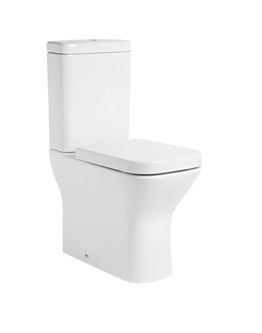 Structure Comfort Flush Close Coupled Pan Only