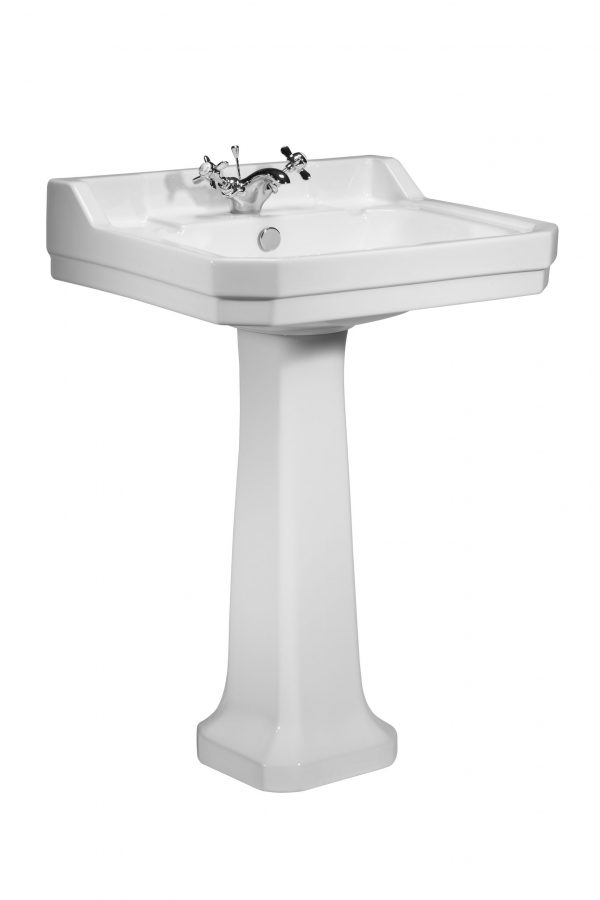 Vitoria 605mm 1 Tap Hole Square basin only
