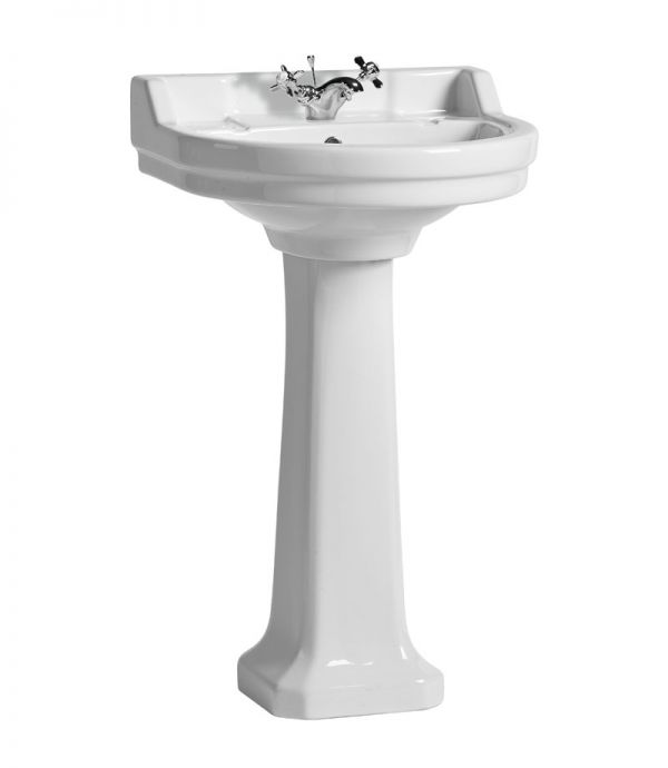 Vitoria 550mm 1Tap Hole Round basin only