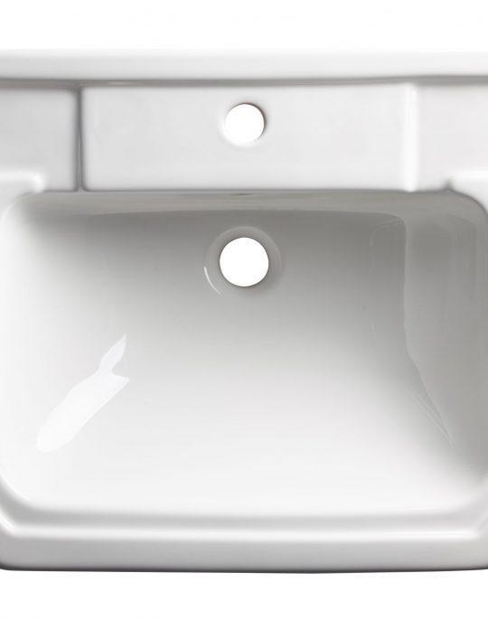 Vitoria 550mm Semi-Countertop 1 Tap Hole Basin