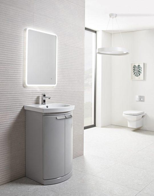 500mm Floor Unit Only – Light Grey