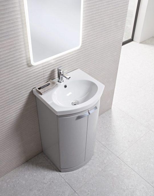 650mm Floor Unit Only – Light Grey