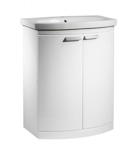 650mm Floor Unit Only – White