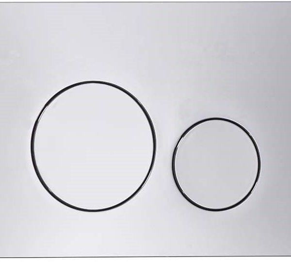 Flush Plate Options Circles Flush Plate – Chrome