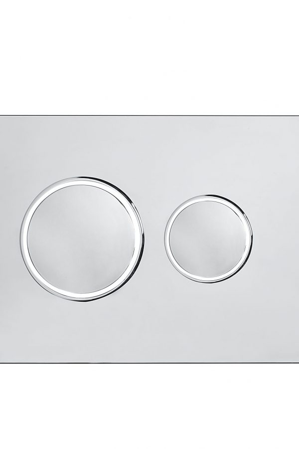 Flush Plate Options Square Flush Plate – Stainless Steel