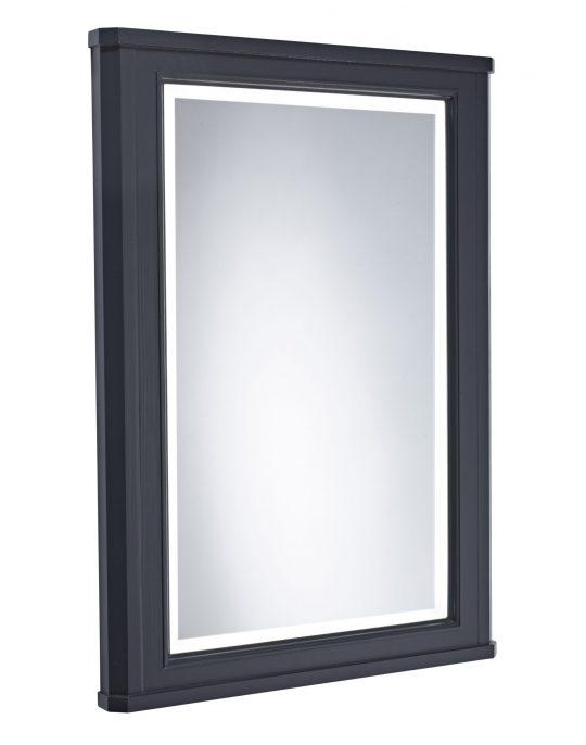 600mm Illuminated Mirror Frame – Dark Grey