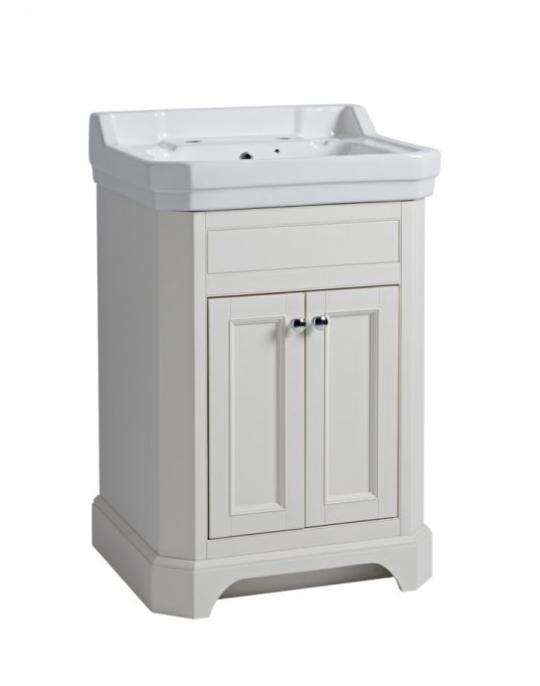 Vitoria 600mm Floorstanding Unit – Linen White