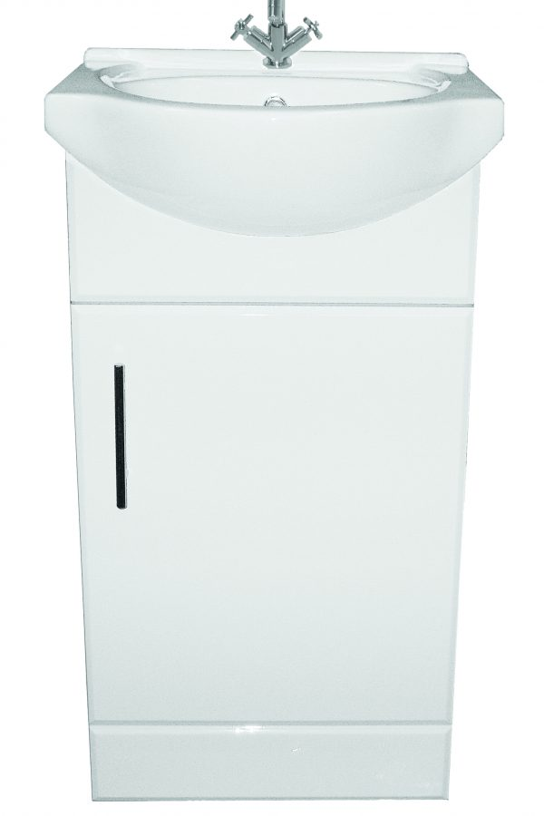 450mm Base Unit Only – White