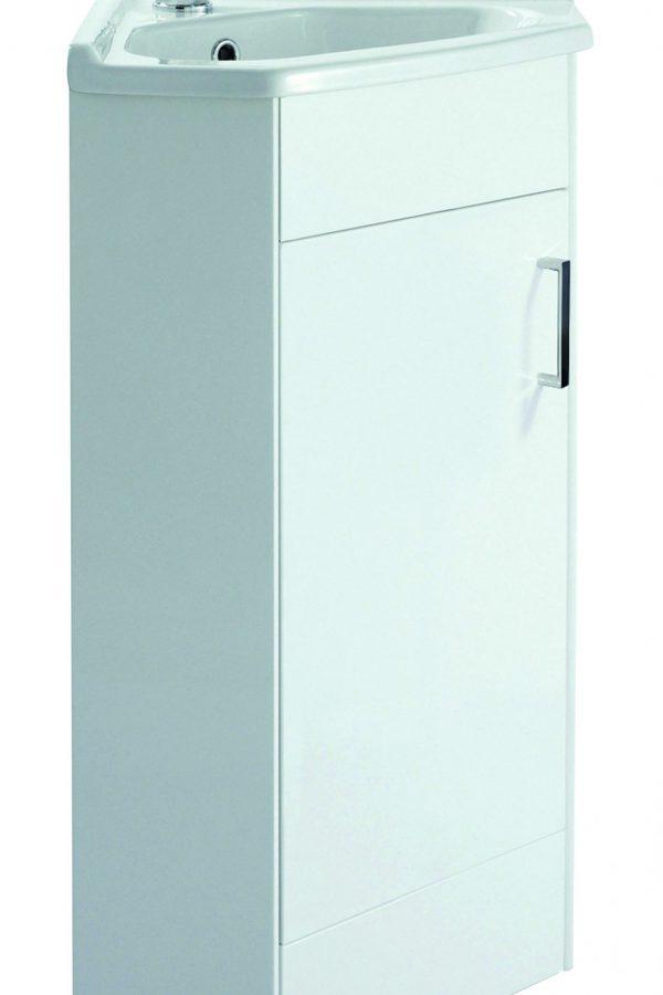 313mm Corner Unit – White