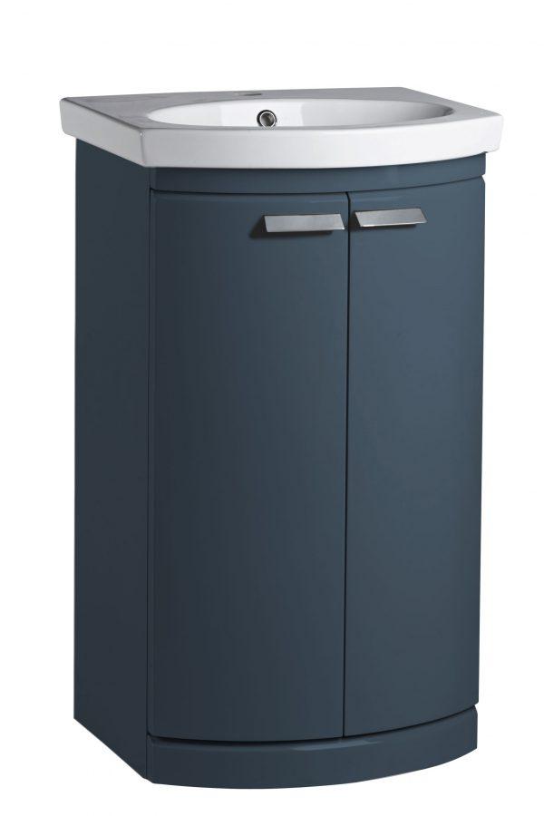 500mm Floor Standing Unit – Oxford Blue