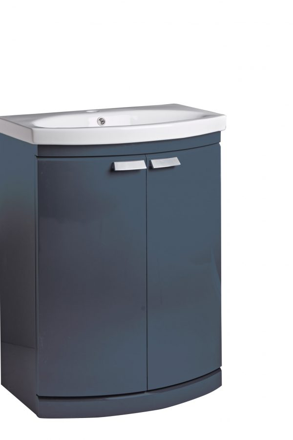 650mm Floor Standing Unit – Oxford Blue