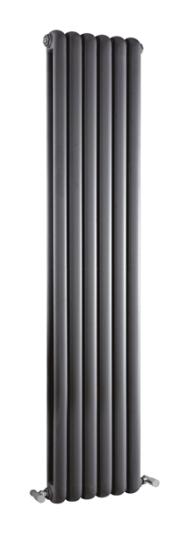 1500×383 Salvia Double Panel Radiator – Anthracite