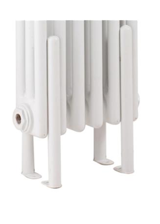 Colosseum Radiator Floor Fixing Kit – White
