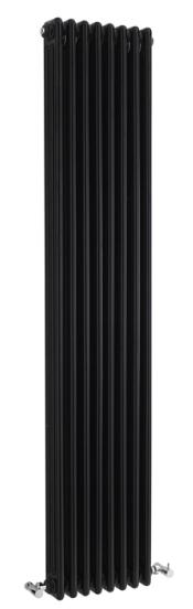 1800X381 Colosseum Triple Column Radiator – Black