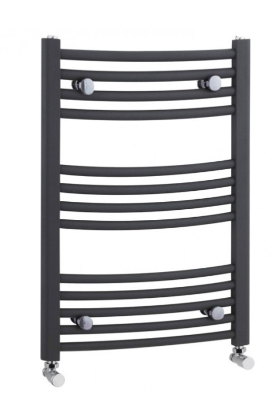 500×700 Anthracite Curved Ladder Rails – Anthracite