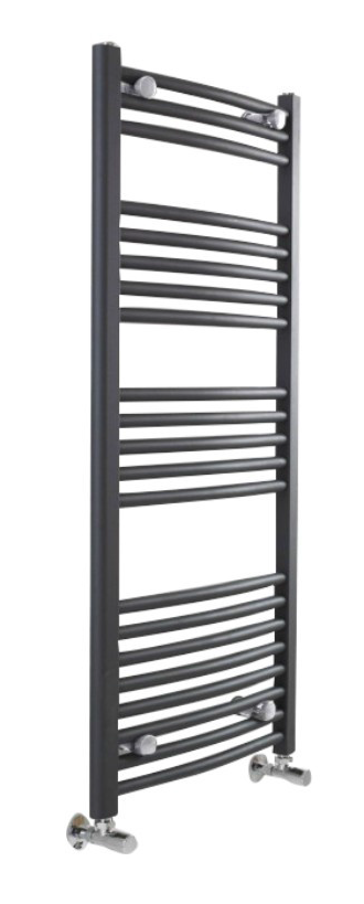500×1150 Anthracite Curved Ladder Rails – Anthracite