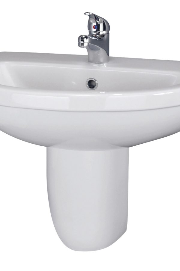 Sofia 555mm 1 Tap hole Basin Only
