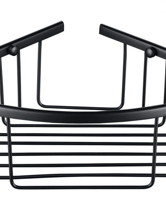 Sorento Black Single Shower Basket
