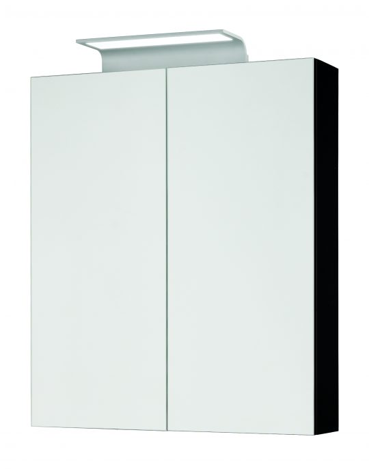600mm Mirror Cabinet – Gloss Graphite (Unit Only)
