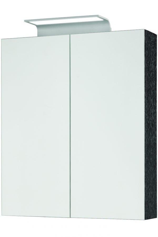 600mm Mirror Cabinet – Shadow Black