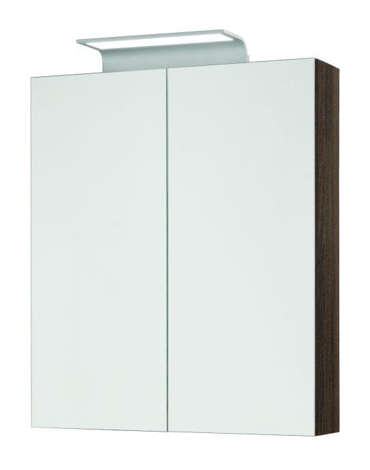 600mm Mirror Cabinet – Walnut (Unit Only)