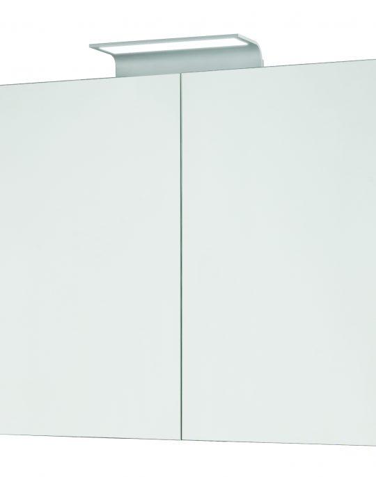 800mm Mirror Cabinet – Grey Molina Oak (Unit Only)