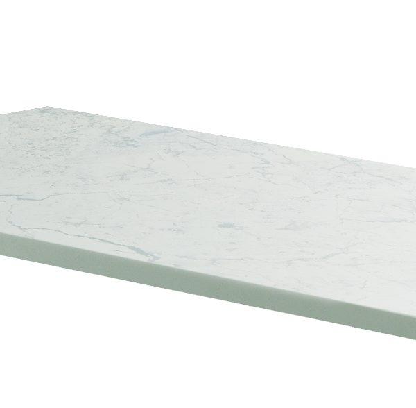 1000mm Claddagh Marble Counter Top White Quartz