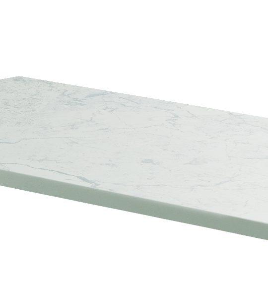1200mm Claddagh Marble Counter Top White Quartz