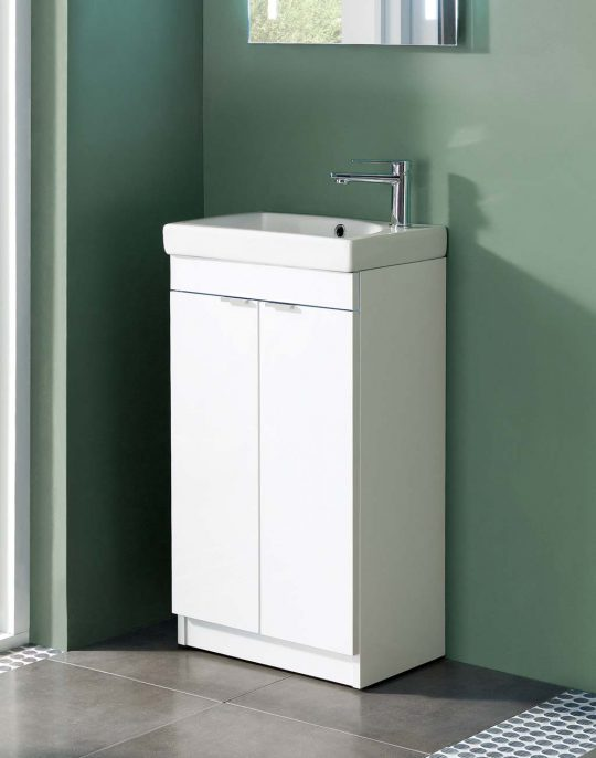 450mm Unit Only – White