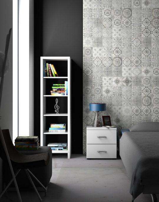 Nikea Sephia Pattern Tile